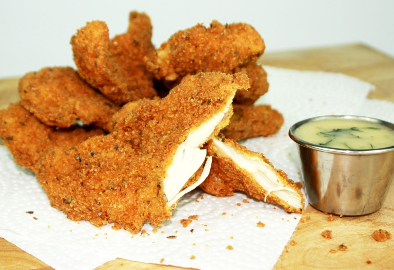 chicken fingers are better (gluten-free) |